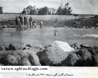گاومیش گلی در سال 1320