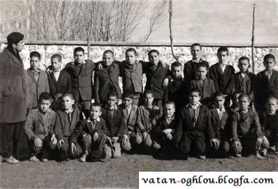 دانش آموزان مدرسه جامی-1352
